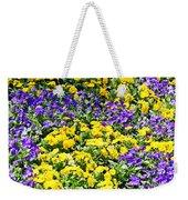 Colorful Garden Weekender Tote Bag