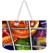 Colorful Glass Balls Weekender Tote Bag