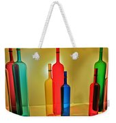 Colorful Glass Bottles Weekender Tote Bag