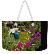 Colorful Greenhouse Weekender Tote Bag