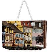 Colorful Homes Of La Petite Venise In Colmar France Weekender Tote Bag