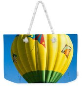 Colorful Hot Air Balloon Over Vermont Weekender Tote Bag