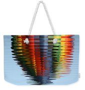 Colorful Hot Air Balloon Ripples Weekender Tote Bag