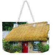 Colorful Irish Cottage Weekender Tote Bag