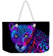 Colorful Jaguar Weekender Tote Bag