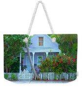 Colorful Key West Cottage Weekender Tote Bag
