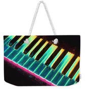 Colorful Keys Weekender Tote Bag