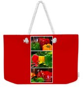 Colorful Kitchen Collage Weekender Tote Bag