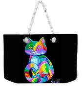 Colorful Kitten Weekender Tote Bag