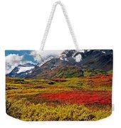 Colorful Land - Alaska Weekender Tote Bag