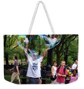Colorful Large Bubbles Weekender Tote Bag