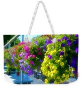 Colorful Large Hanging Flower Plants 1 Weekender Tote Bag