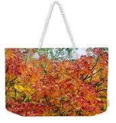 Colorful Leaves In Autumn Weekender Tote Bag