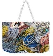 Colorful Lines Weekender Tote Bag