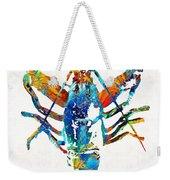 Colorful Lobster Art By Sharon Cummings Weekender Tote Bag