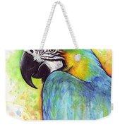 Macaw Painting Weekender Tote Bag