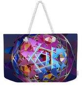 Colorful Metallic Orb Weekender Tote Bag