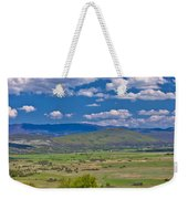 Colorful Nature Od Lika Region Weekender Tote Bag