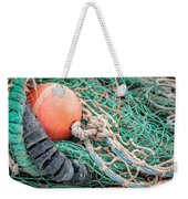 Colorful Nautical Rope Weekender Tote Bag