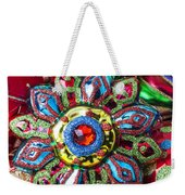 Colorful Ornaments Weekender Tote Bag