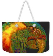 Colorful Parrot Weekender Tote Bag