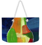 Colorful Pear- Abstract Painting Weekender Tote Bag