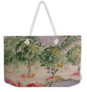 Colorful Pond Weekender Tote Bag