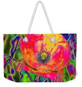 Colorful Poppy Weekender Tote Bag