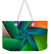 Colorful Ribbons Weekender Tote Bag