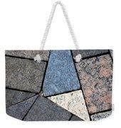 Colorful Rock Pavers Weekender Tote Bag