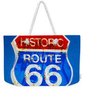 Colorful Route 66 Weekender Tote Bag