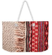 Colorful Rug Weekender Tote Bag by Tom Gowanlock