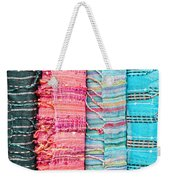 Colorful Scarves Weekender Tote Bag