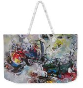 Colorful Seascape Abstract Landscape Weekender Tote Bag