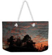Colorful Sky Number 5 Weekender Tote Bag