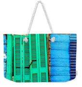Colorful Slum Weekender Tote Bag