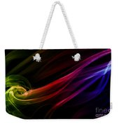 Colorful Smoke Composition Weekender Tote Bag