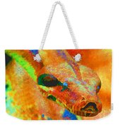 Colorful Snake Weekender Tote Bag