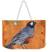Colorful Songbirds 2 Weekender Tote Bag by Debbie DeWitt