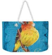 Colorful Songbirds 4 Weekender Tote Bag