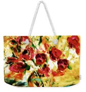 Colorful Spring Bouquet - Abstract  Weekender Tote Bag