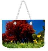 Colorful Spring Weekender Tote Bag