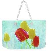Colorful Spring Tulip Flowers Weekender Tote Bag