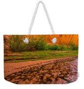 Colorful Streambed - Coyote Gulch - Utah Weekender Tote Bag