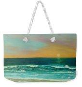 Colorful Sunset Beach Paintings Weekender Tote Bag