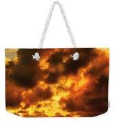 Colorful Sunset Weekender Tote Bag