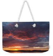 Colorful Sunset, Snaefellsnes Weekender Tote Bag