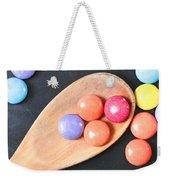 Colorful Sweets Weekender Tote Bag