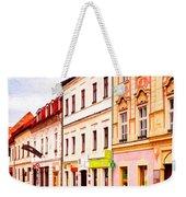 Colorful Town Homes Weekender Tote Bag