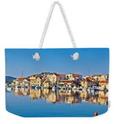 Colorful Town Of Tribunj Waterfront Weekender Tote Bag